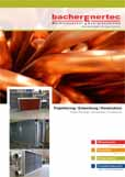 bacherEnertec heat exchangers and energy systems - Germany | Backnang - our company brochure